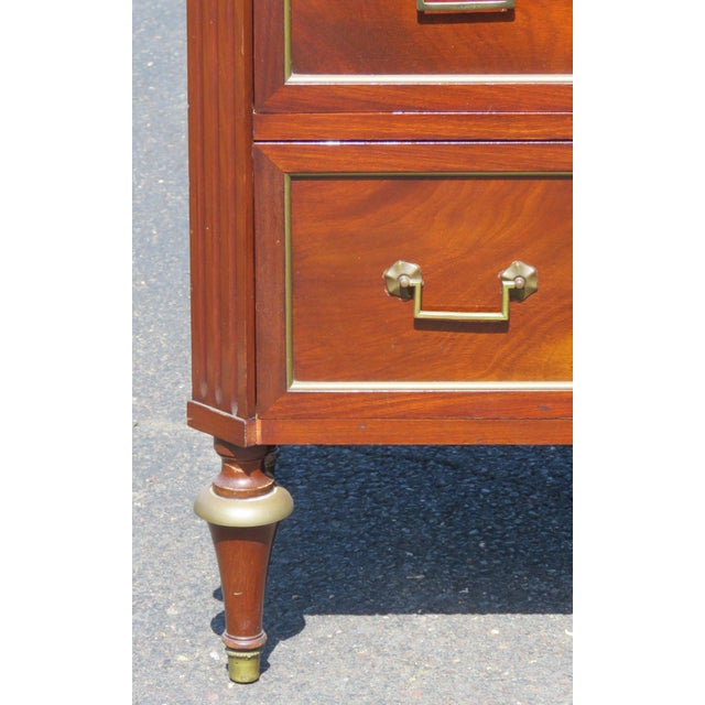 Jansen Style Marble Top Commode - Image 2 of 5