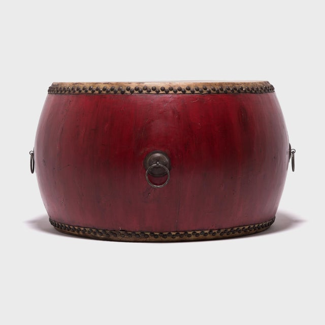 Early 20th Century Early 20th Century Chinese Opera Drum For Sale - Image 5 of 7