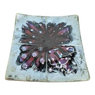 Vintage Studio Art Centerpiece Plate For Sale