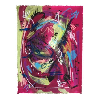 Jessalin Beutler Original Abstract Art on Paper