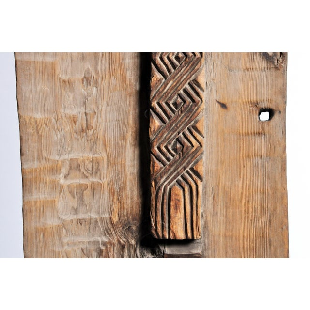 Carved Wooden Door Panel on Stands For Sale - Image 11 of 11