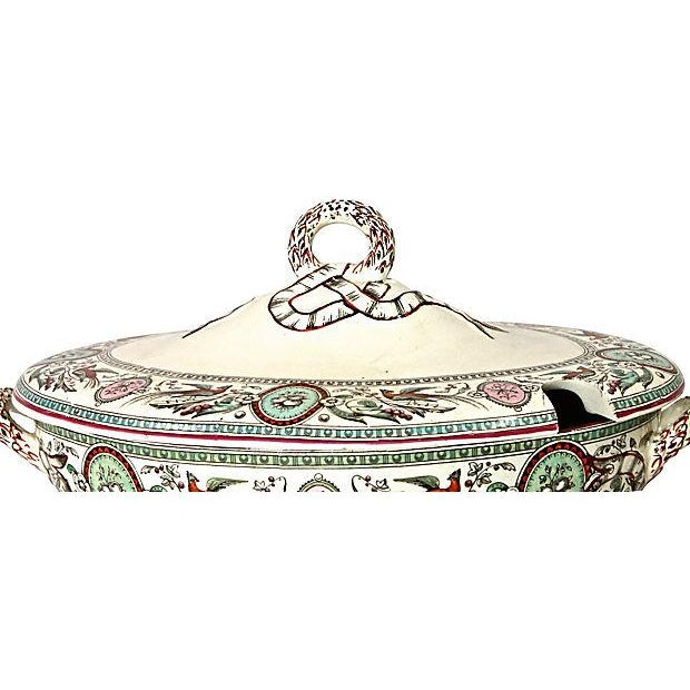 Antique French Chinoiserie Soup Tureen - Image 3 of 9