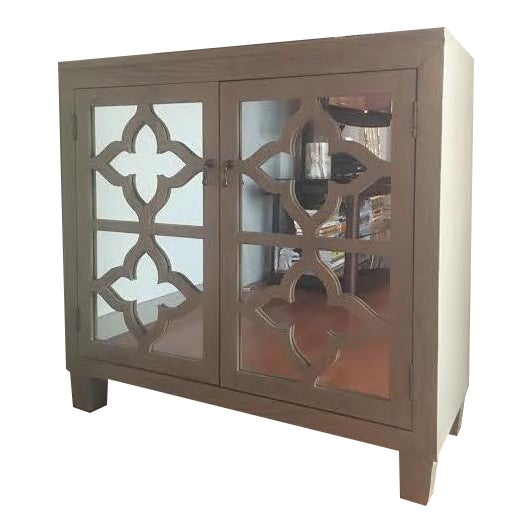 Mirrored Bar Cabinet For Sale
