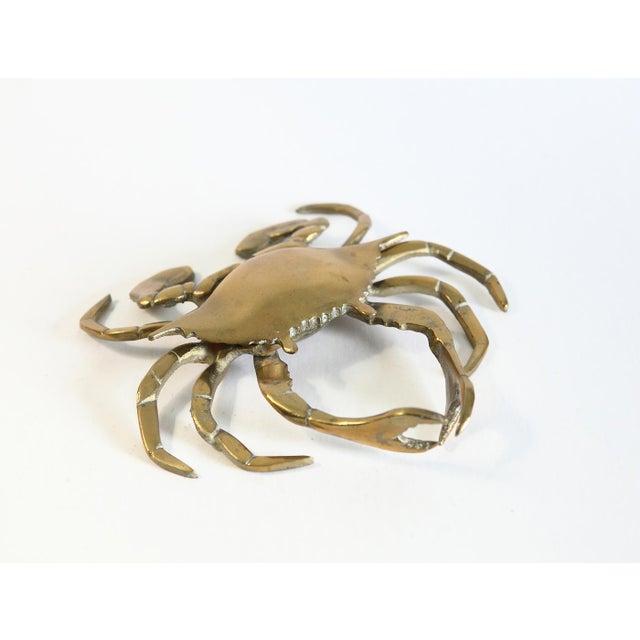 Vintage Brass Crab Figurine - Image 3 of 6