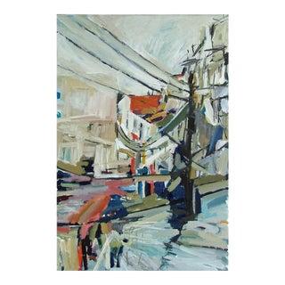 "Colin Taylor ""Shimla"" Painting"