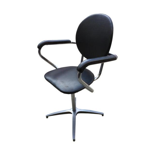 1960's Modern Chrome Desk Chair - Image 1 of 8
