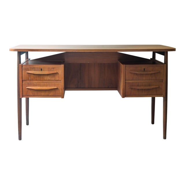 Vintage Danish Maurice Villency Mid-Century Desk Table - Image 1 of 8