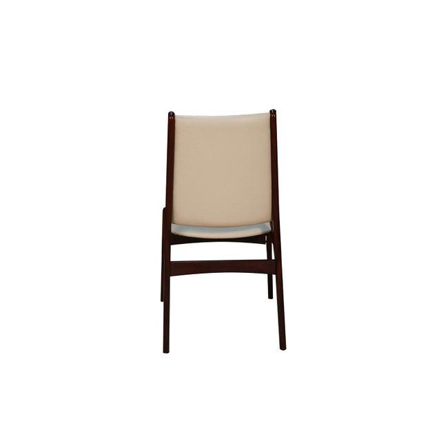 Uldum Møbelfabrik Anderstrup Mobelfabrik Uldum Rosewood Mid Century Danish Dining Chairs For Sale - Image 4 of 12