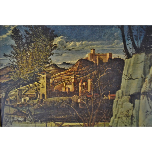 Vintage Giovanni Bellini Framed Print on Board The Ecstasy of St. Francis - Image 4 of 11