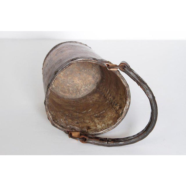 A 19th Century English Leather Fire Bucket For Sale - Image 11 of 13