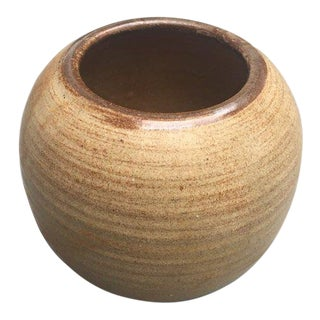 Studio Pottery Ceramic Planter For Sale