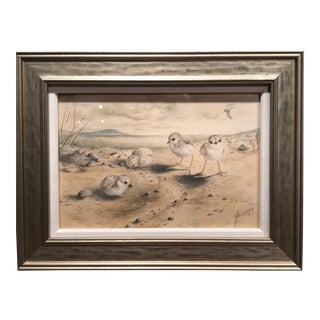 Frank Charles Hennessey Watercolor American 20th Century For Sale