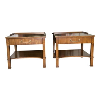 Mid-Century Modern End Tables - a Pair For Sale
