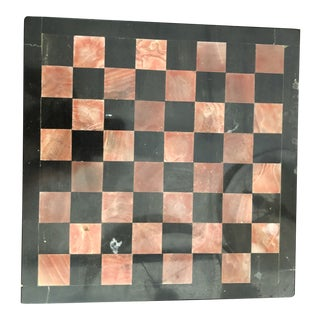 Italian Marble Chess Board For Sale