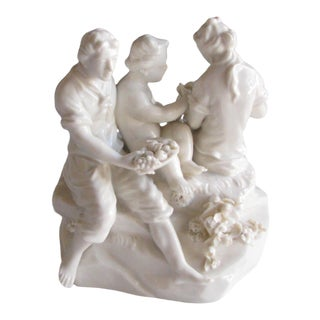 Antique German Porcelain Figurine For Sale