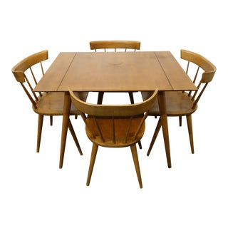 Mid Century Modern Paul McCobb Dining Set - 5 Pieces For Sale