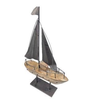 Decorative Sailboat Wood Model For Sale