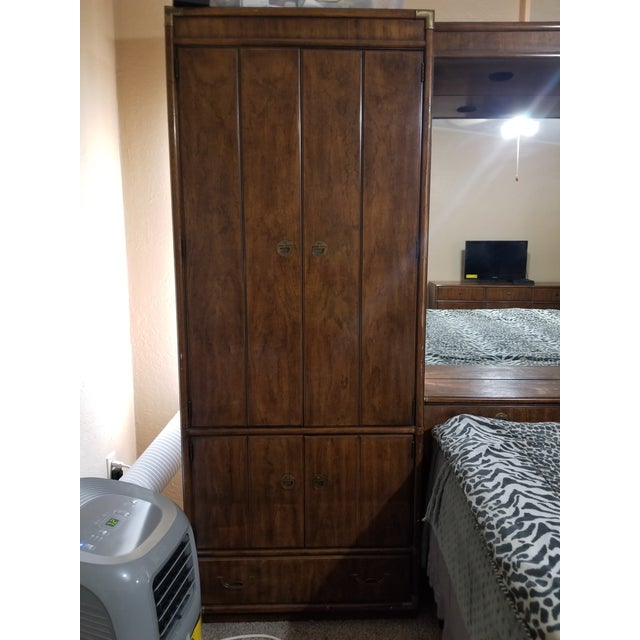 Drexel Heritage King Size Bedset For Sale In Oklahoma City - Image 6 of 11