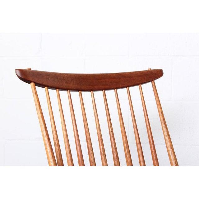 George Nakashima Lounge Chair by George Nakashima For Sale - Image 4 of 10