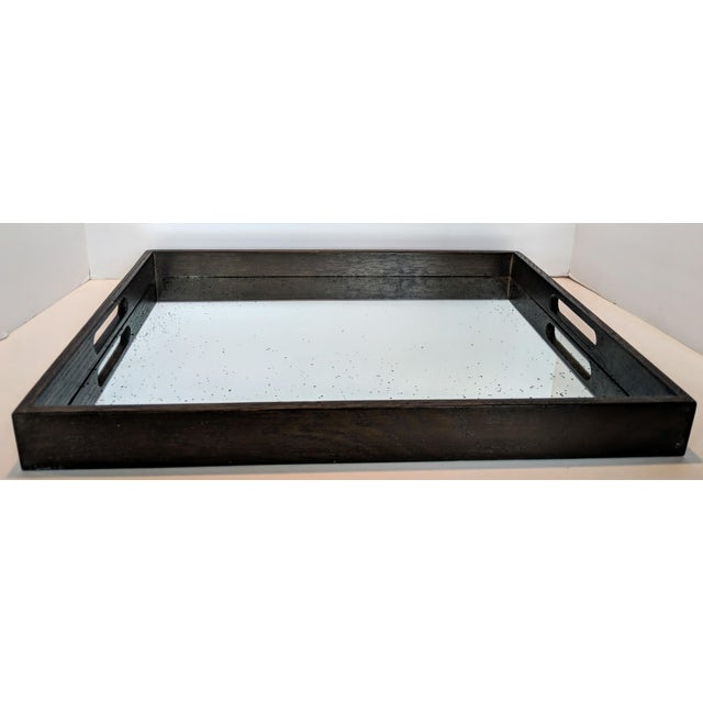Notre Monde Antiqued Mirrored Tray For Sale - Image 13 of 13
