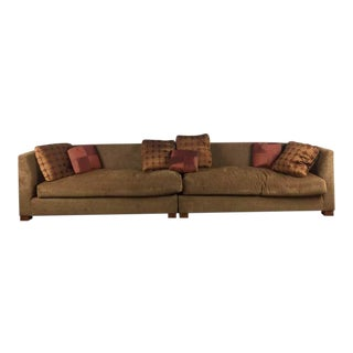Marco Fine Upholstery Tan Upholstered Sectional Sofa