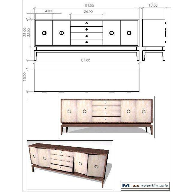 Customizable Martin Sideboard For Sale - Image 10 of 10