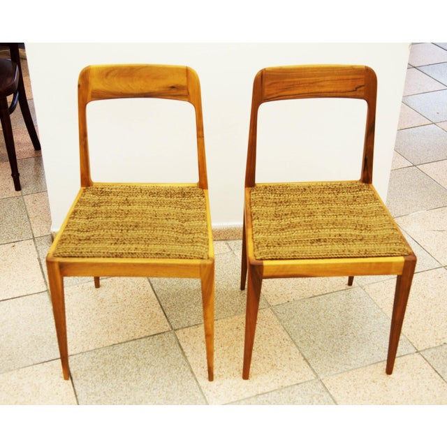 1950s Austrian A 7 chairs by Carl Auböck for Auböck - A Pair For Sale - Image 5 of 8