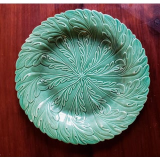 English Pottery Green-Glazed Leaf plates.Possibly Brameld, Yorkshire Preview