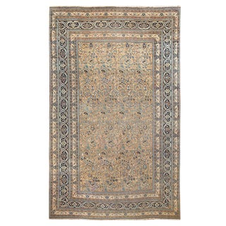 Antique Persian Khorassan Carpet For Sale