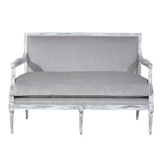Antique French Louis XVI-style Settee