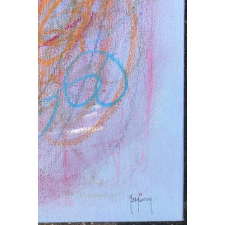 Colorful Abstract Painting by Tony Curry Preview