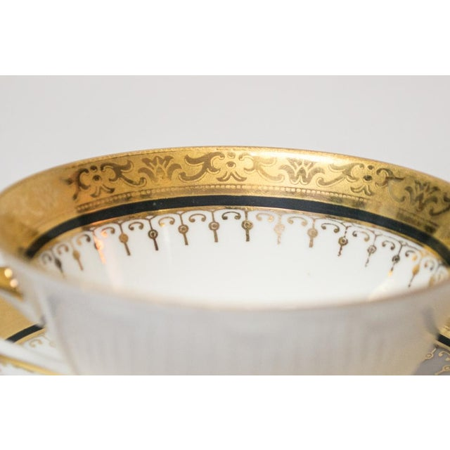 Vintage French Porcelain Dinner Set - Set of 42 For Sale In New York - Image 6 of 10