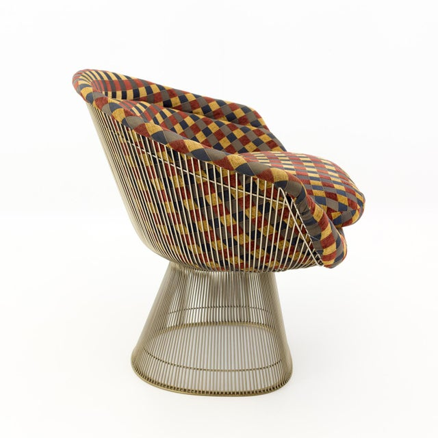 Mid 20th Century Mid Century Modern Warren Platner Lounge Chairs - a Pair For Sale - Image 5 of 9