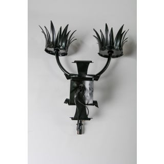 1920s Gothic Style 2-Light Electrified Sconces - a Pair Preview