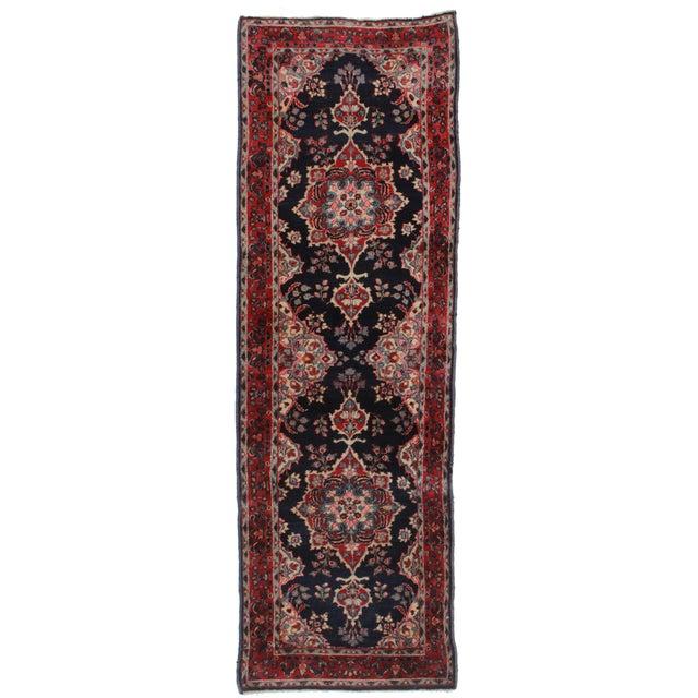 Antique Persian Kerman Runner - 2′6″ × 7′8″ For Sale