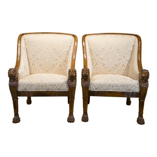 Boston Mills Solid Rosewood Leo Chair - A Pair