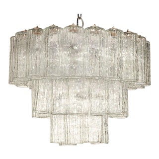 1950s Murano Chandelier by Venini For Sale