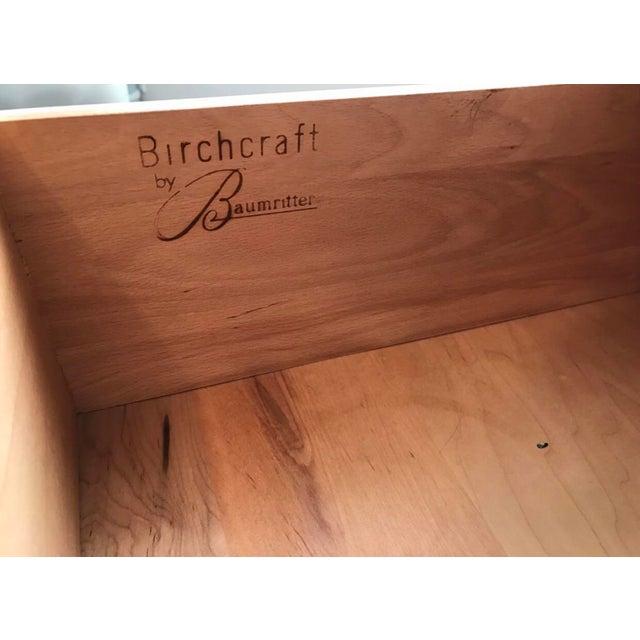Mid-Century Modern Birchcraft by Baumritter Mid-Century Dresser For Sale - Image 3 of 6