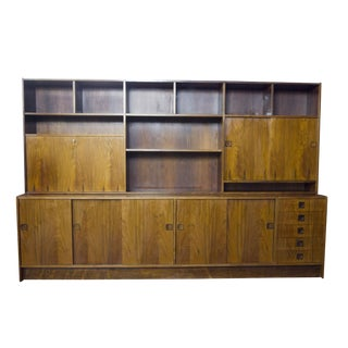Farso Danish Modern Rosewood Wall Unit