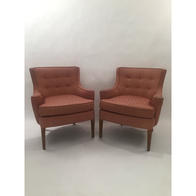 Italian Mid-Century Curved Arm Chairs - A Pair - Image 2 of 11