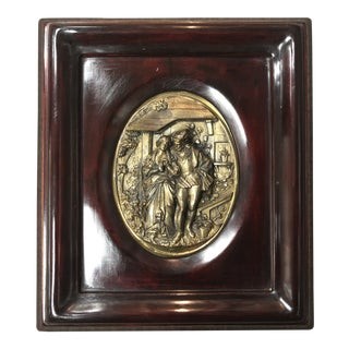 Romeo & Juliet Wall Plaque For Sale