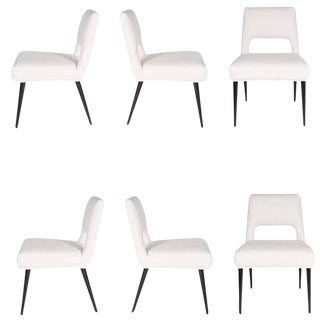 Customizable Hofford Dining Chairs, Set of Six For Sale
