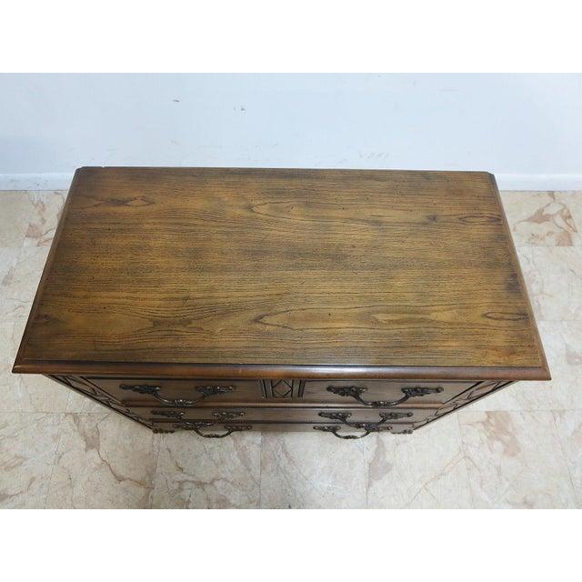 Baker French Regency Paw Foot Carved Bachelor Chest Dresser For Sale - Image 9 of 9