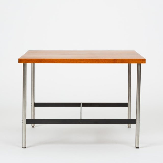 Black Mid-Century Modern Walnut Children's Work Table by Herman Miller For Sale - Image 8 of 13