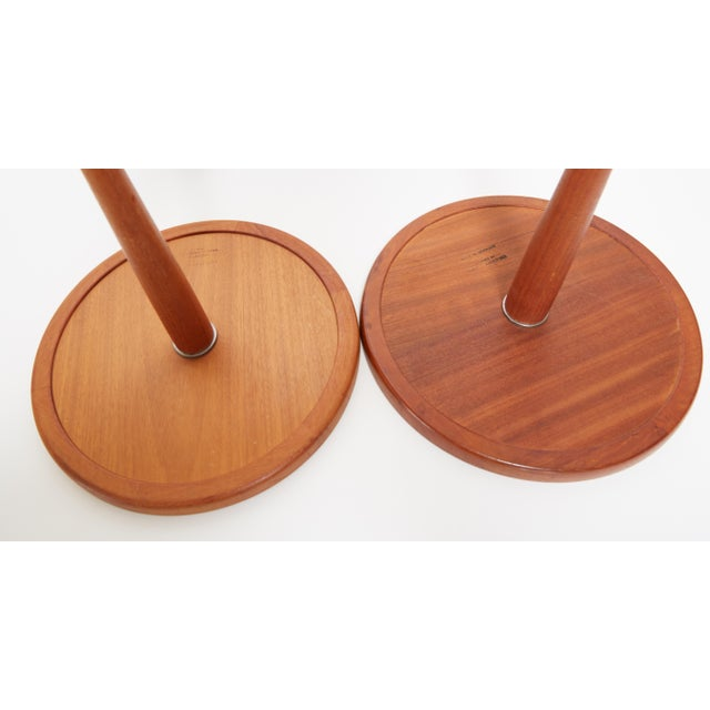 1960s 1960s Danish Modern Hans C. Anderson Teak Side Tables - a Pair For Sale - Image 5 of 7