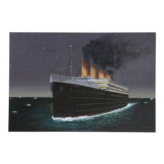 "1990s Roy Ahlgren, ""Titanic"", Photorealist Print For Sale"