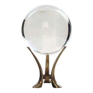 Crystal Ball on Vintage Stand