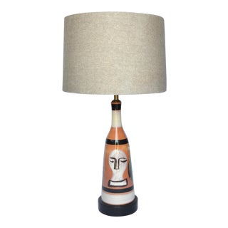 Mid Century Du Nord French Table Lamp For Sale