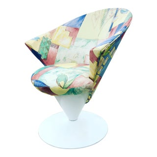 Adrian Pearsall Craft Associates Cone Chair For Sale