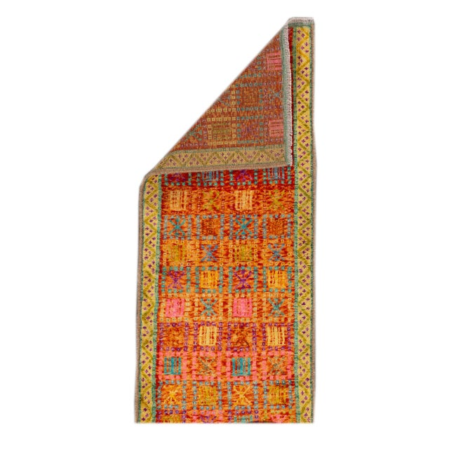 """Modern Gabbeh Rug, 2'0"""" X 5'0"""" For Sale - Image 9 of 10"""